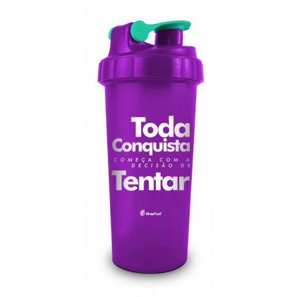 Coqueteleira Toda Conquista - 600ml - Brasfoot