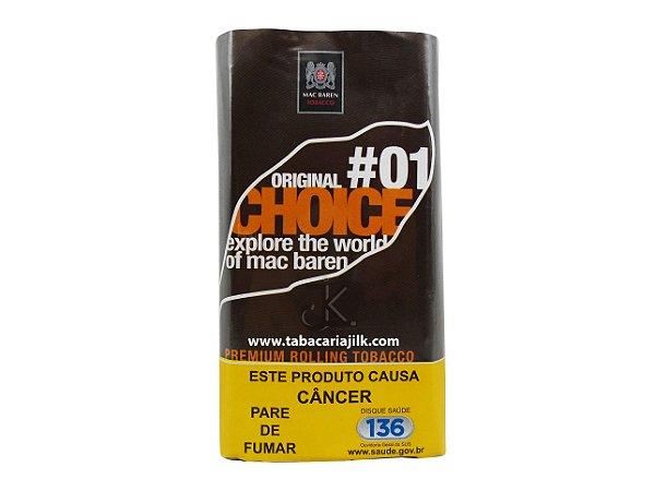 Tabaco/Fumo Para Cigarro Mac Baren 01 Original Choice 30g