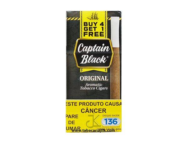 Cigarrilha Captain Black Mini Original C/5