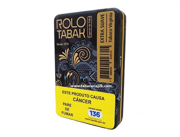 Cigarro de Palha Rolo Tabak Extra Suave com Filtro Lata C/20