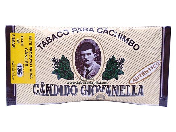 Tabaco/Fumo Para Cachimbo Cândido Geovanella Autêntico (Pêssego) 45g