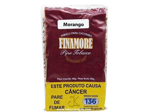 Tabaco/Fumo Para Cachimbo Finamore Morango 48g