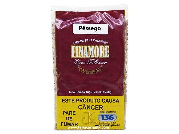Tabaco/Fumo Para Cachimbo Finamore Pêssego 48g