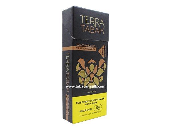 Cigarro de Seda Orgânica Terra TabakCom filtro C/20