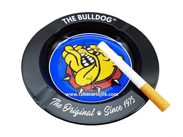 Cinzeiro Para Cigarro The Bulldog Lata Cor Preto