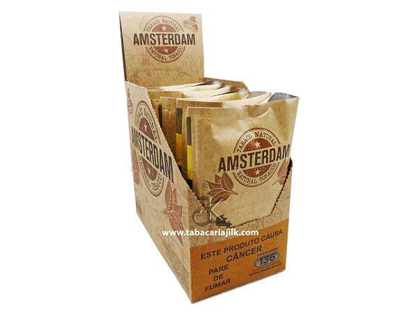 Tabaco/Fumo Para Cigarro Amsterdam 25g Caixa C/6