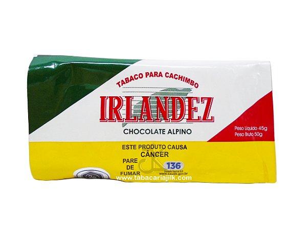 Tabaco/Fumo para cachimbo Irlandez Chocolate Alpino 45g