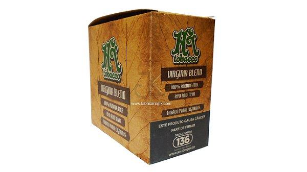 Tabaco/Fumo para cigarro HI Tobacco 100% orgânico Virginia Blend 35g caixa C/06