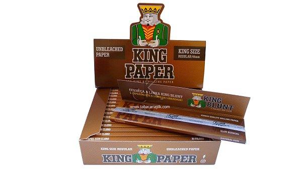 seda King Paper unbleached king size C/20 livretos