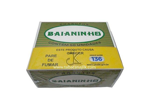 Charuto Baianinho Alvorada (Natural) caixa C/50