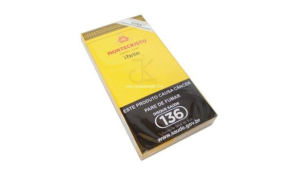 Cigarrilha Monte Cristo Puritos C/5