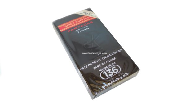 Cigarrilha Partagas Puritos C/5
