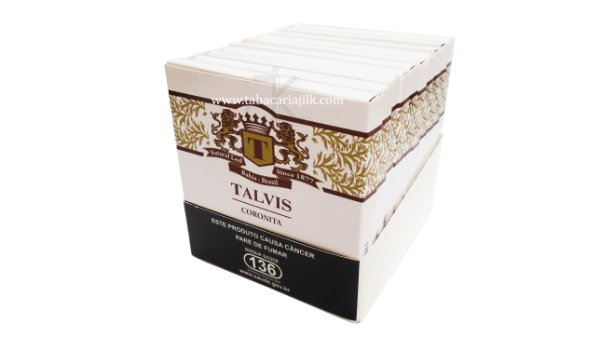 Cigarrilha Talvis Chocolate coronita Display C/10X10