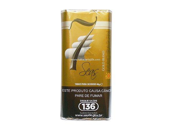 Tabaco/Fumo para cachimbo Mac Baren 7 seas Gold Blend 40g