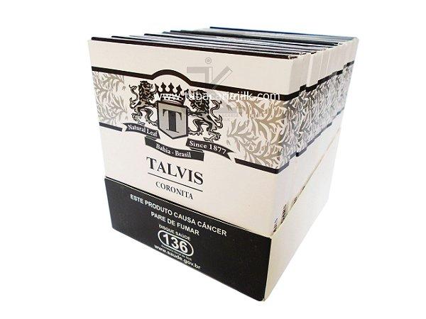 Cigarrilha Talvis Tradicional coronita Display C/10X10