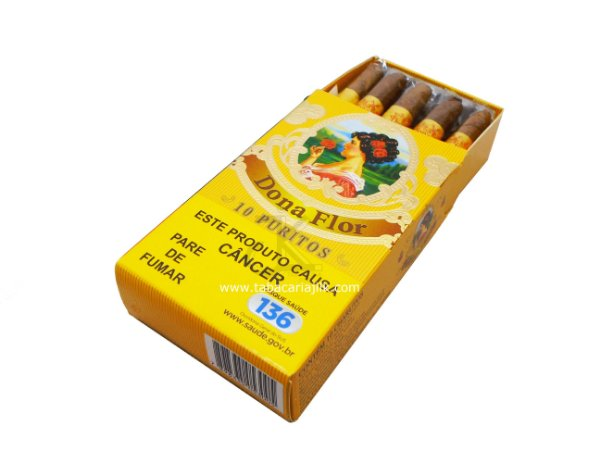 Cigarrilha Dona Flor Puritos C/10