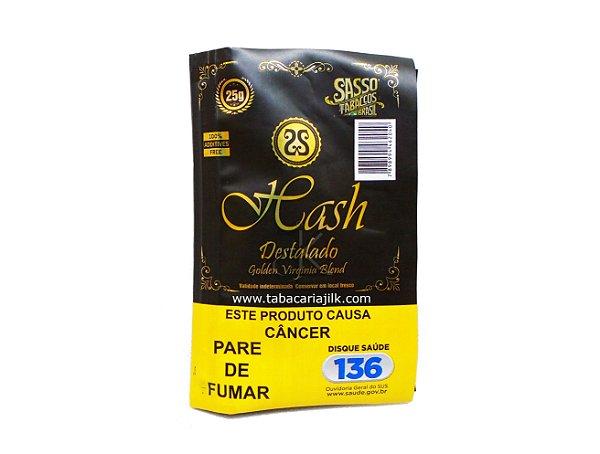 Tabaco/Fumo Para Cigarro Sasso Hash 25g