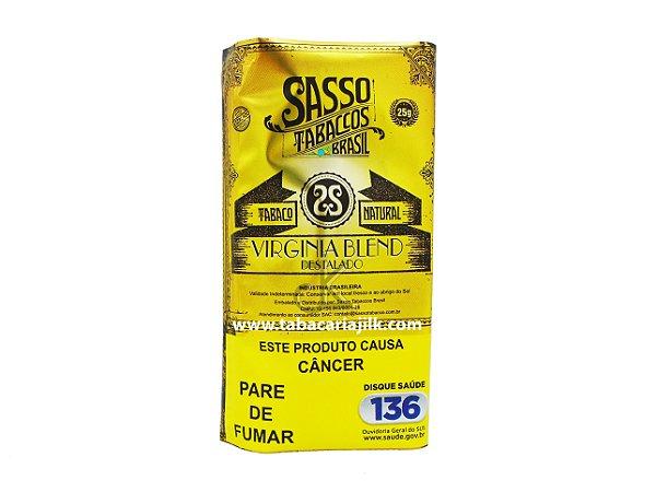 Tabaco/Fumo Para Cigarro Sasso Virginia Blend 25g