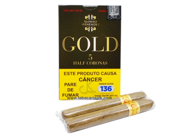 Charuto Alonso Menendez Gold Half Corona C/5