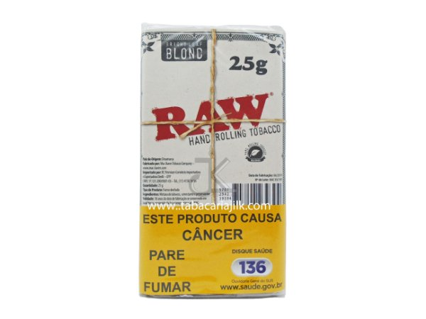 Tabaco/Fumo para Cigarro RAW Blond 25g