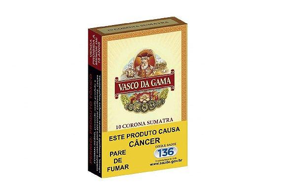 Charuto Vasco da Gama Corona Sumatra Caixa C/10