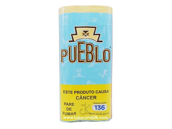 Tabaco/Fumo Para Cigarro Pueblo Blue (Azul) 30g