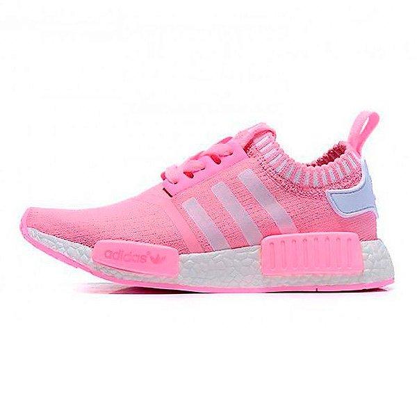 1e6dc924a37 Tênis Feminino Adidas NMD R1 Rosa - Kuluku Shop