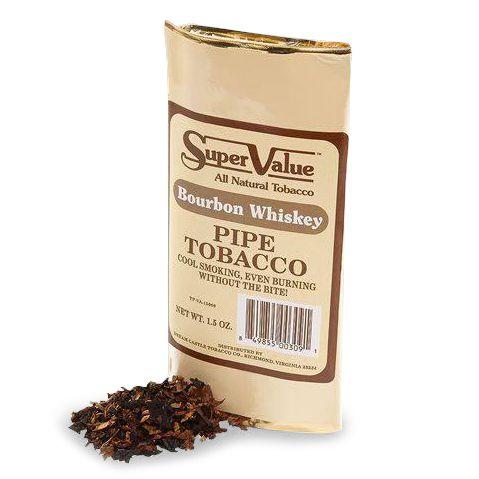 Fumo para Cachimbo Super Value Bourbon Whiskey - Pct (42,5g)
