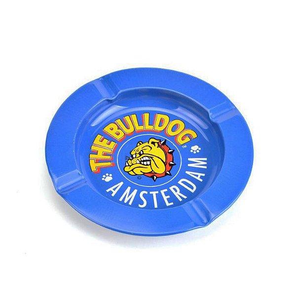 Cinzeiro de Alumínio para Cigarro - The Bulldog Azul