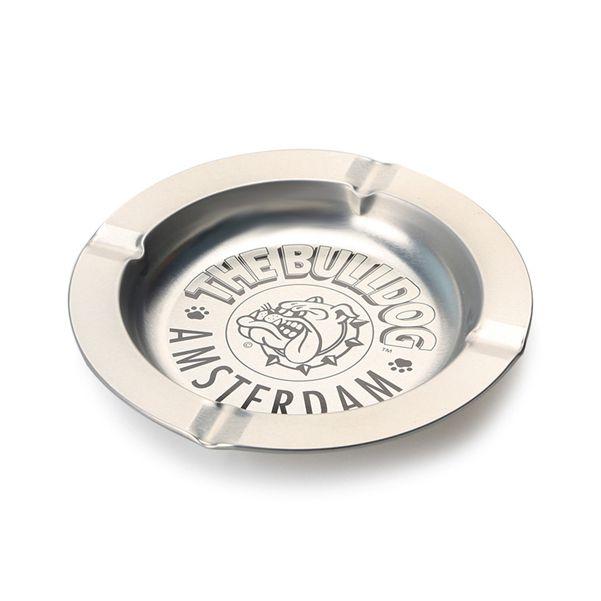 Cinzeiro de Alumínio para Cigarro - The Bulldog Prata