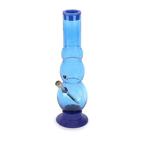 Bong de Acrílico Bubble Soft - Azul