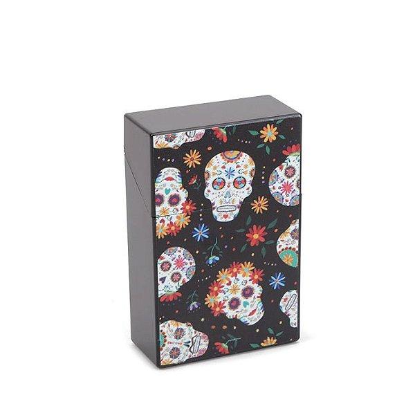 Cigarreira de Plástico - Caveira Mexicana 1
