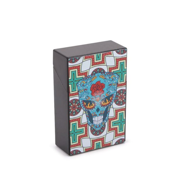 Cigarreira de Plástico - Caveira Mexicana 4