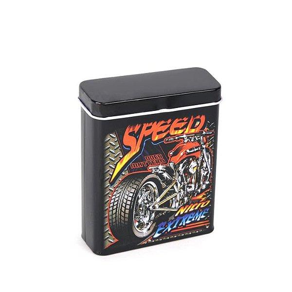 Cigarreira de Metal - Speed
