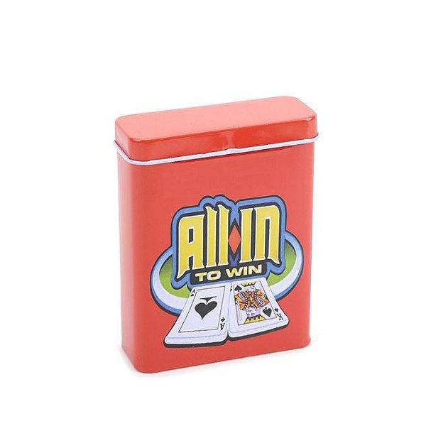 Cigarreira de Metal - All-in