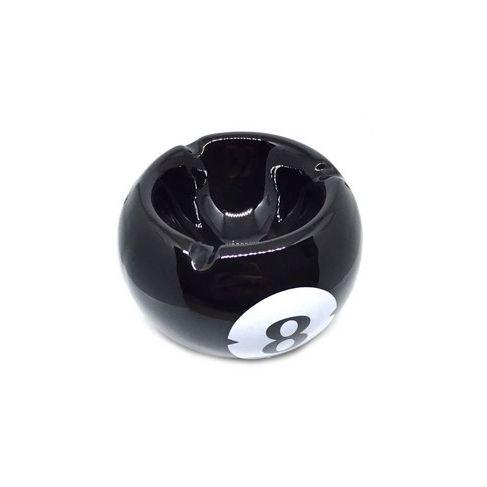 Cinzeiro de Cerâmica para Cigarro - Bola 8