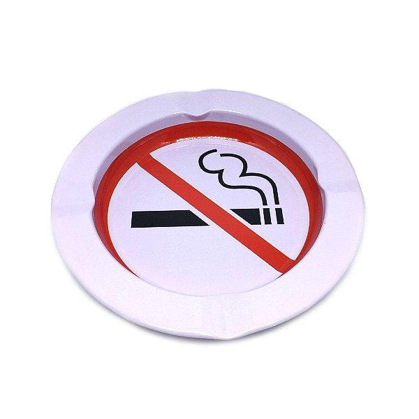 Cinzeiro De Alumínio Para Cigarro - Stop