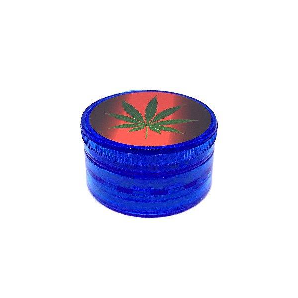 Dichavador De Plástico - Folha Azul 02