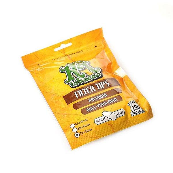 Filtro Para Cigarro Hi Tobacco Slim 7,7mm (pacote Com 130)