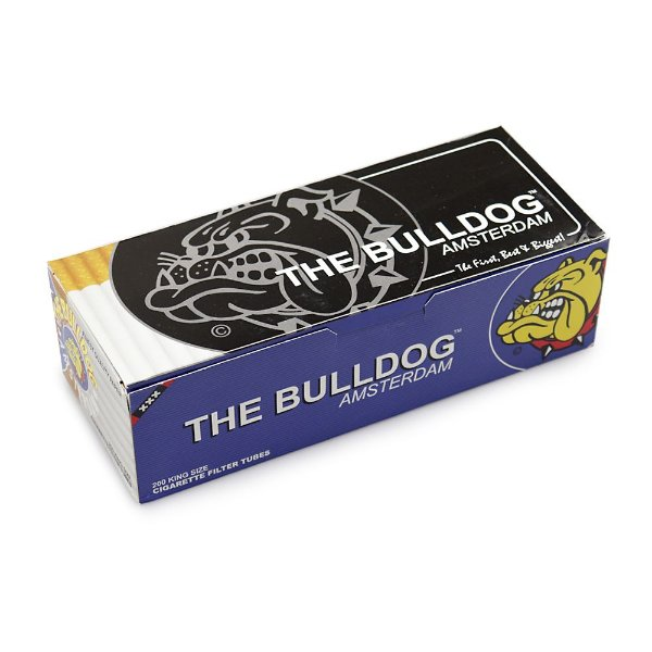 Tubo de Papel para Cigarros The Bulldog - Cx com 200