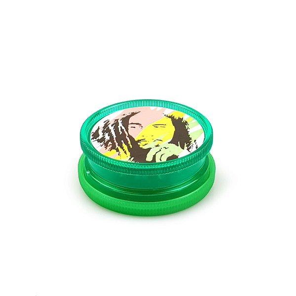 Dichavador de Plástico Bob Max Hemp - Mod. 02 (Cor Sortida)