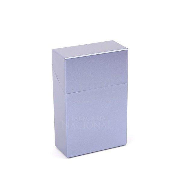 Cigarreira de Plástico - Azul Metálico