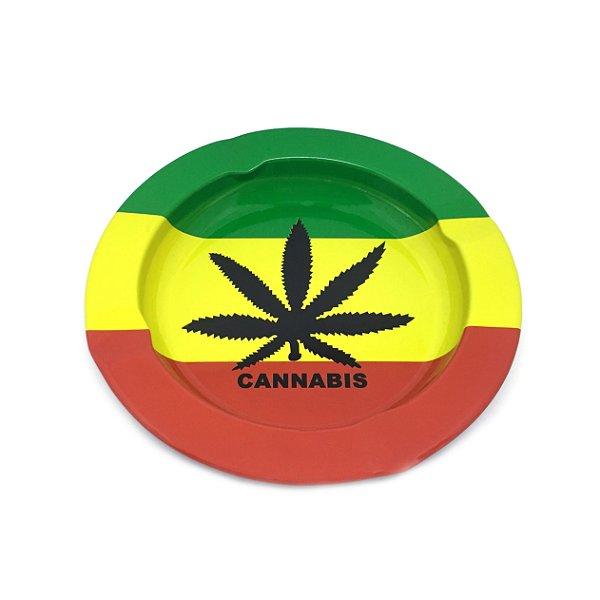 Cinzeiro De Alumínio Para Cigarro - Cannabis