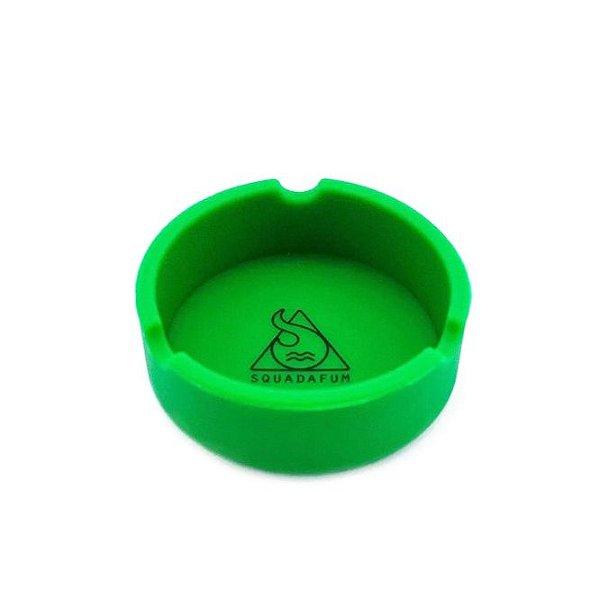 Cinzeiro de Silicone para Cigarro Squadafum - Verde