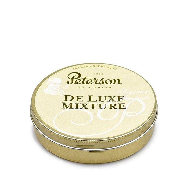 Fumo para Cachimbo Peterson De Luxe Mixture - Lt (50g)