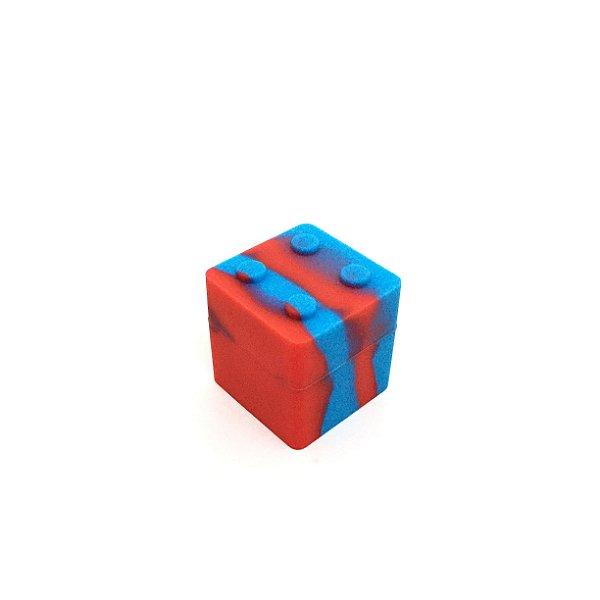 Potinho De Silicone Lego Breeze Only - Azul Mesclado