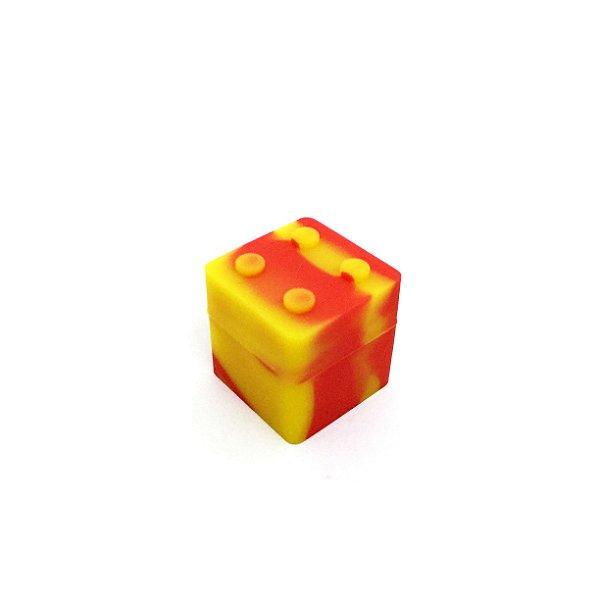 Potinho De Silicone Lego Breeze Only - Vermelho Mesclado