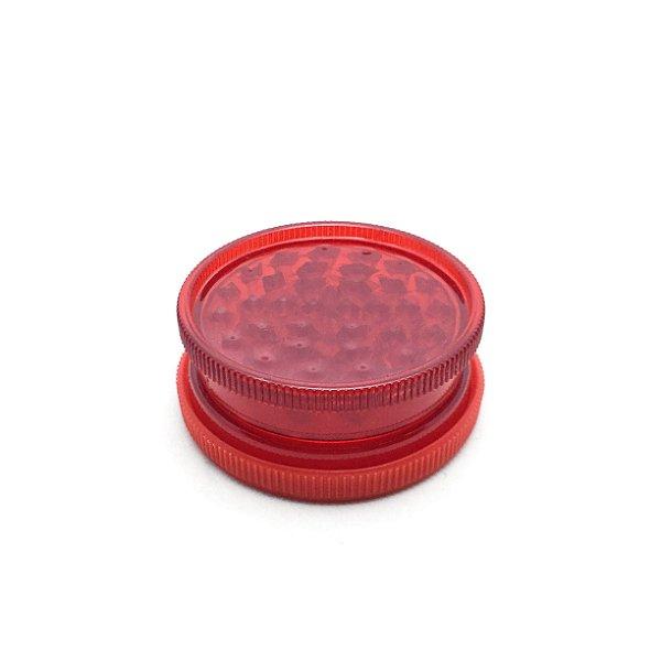 Dichavador de Plástico King - Vermelho