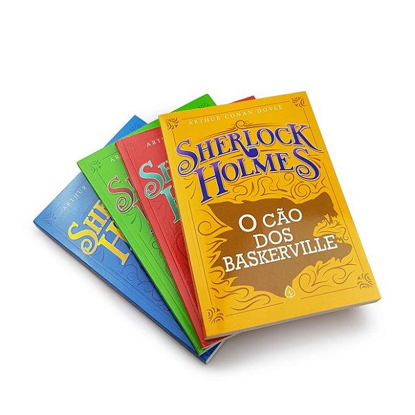 Coleção Livro Sherlock Holmes - 4 Volumes