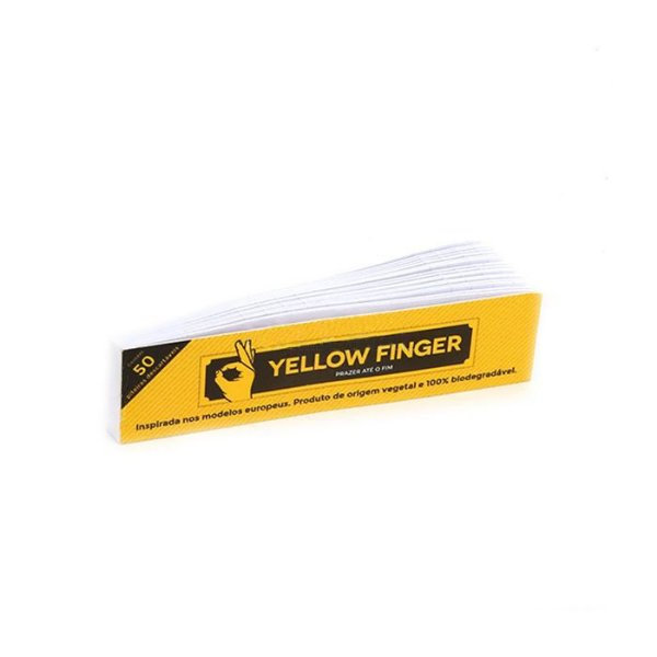 Piteira De Papel Yellow Finger (un.)